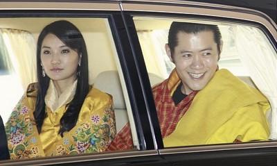 ブータン国王夫妻の来日