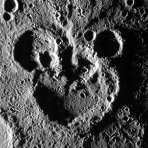 水星で発見された隠れミッキー